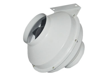 चीन inline centrifugal duct fan, heating and air conditioning duct booster fan for bathroom ventilation फैक्टरी